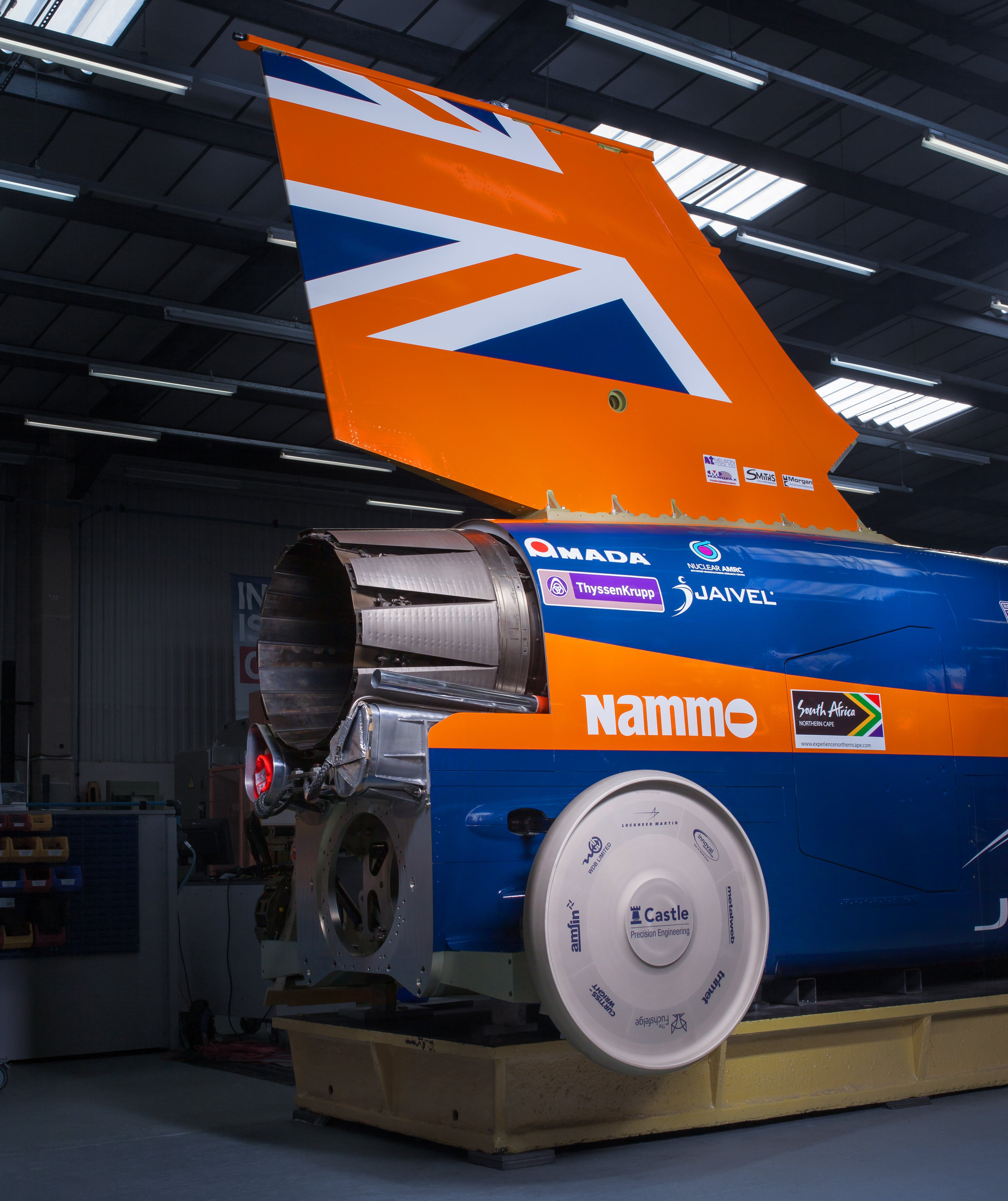 Inside the Engineering of the World's First 1,000mph Car