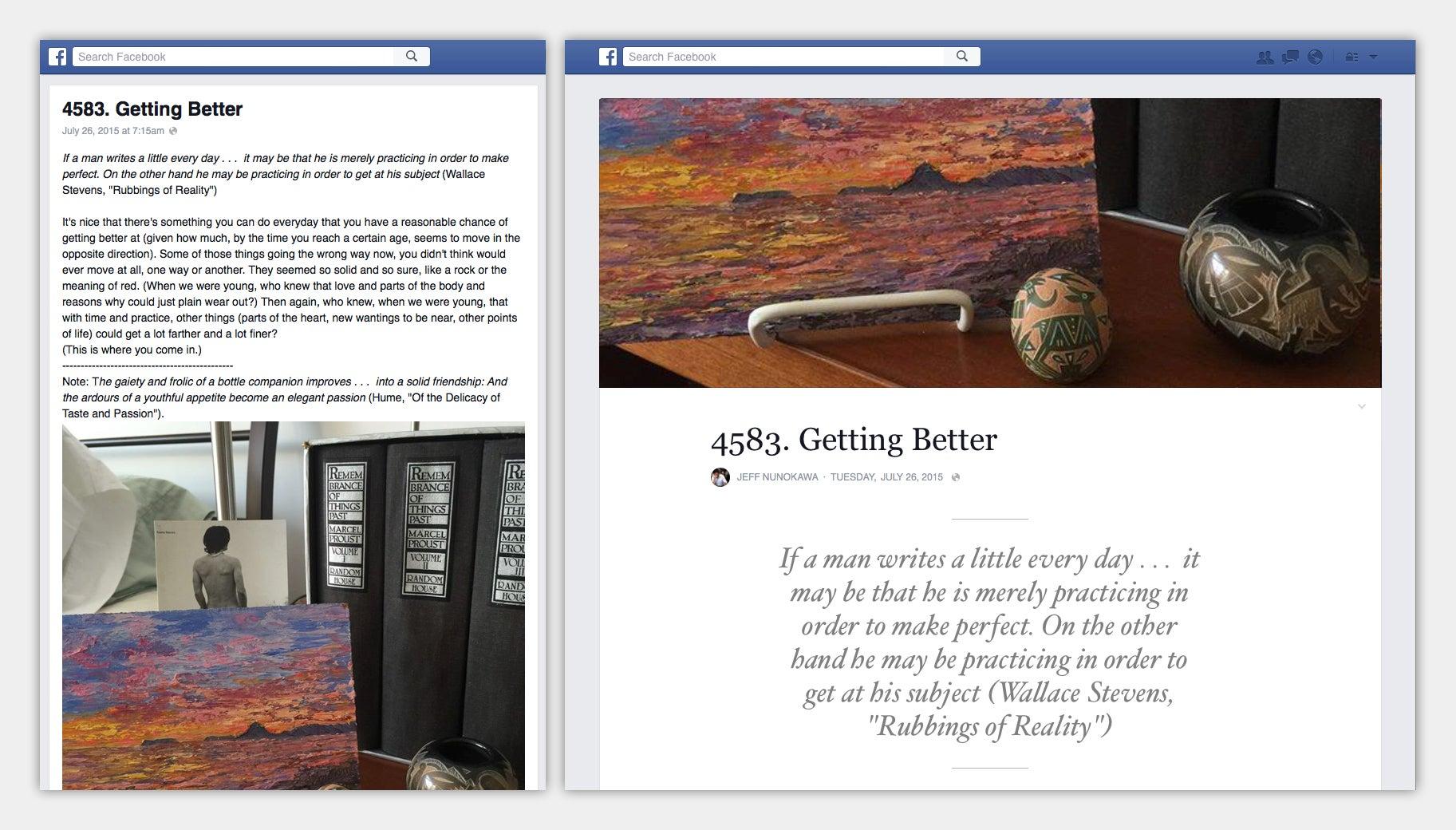 Facebook Attempts to Make Notes Less Bleak