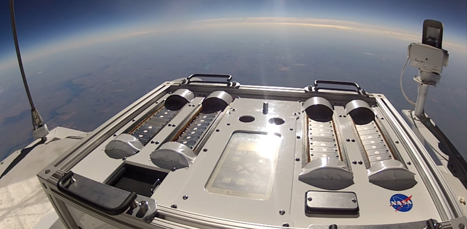 NASA Is Sending Bacteria to the Edge of Space to See if They Can Hitchhike to Mars