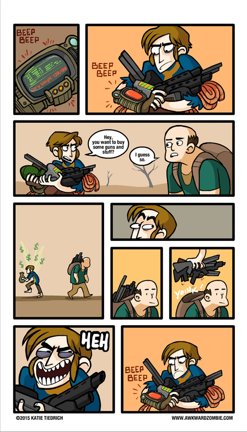 Sunday Comics: Best Gaming System Ever