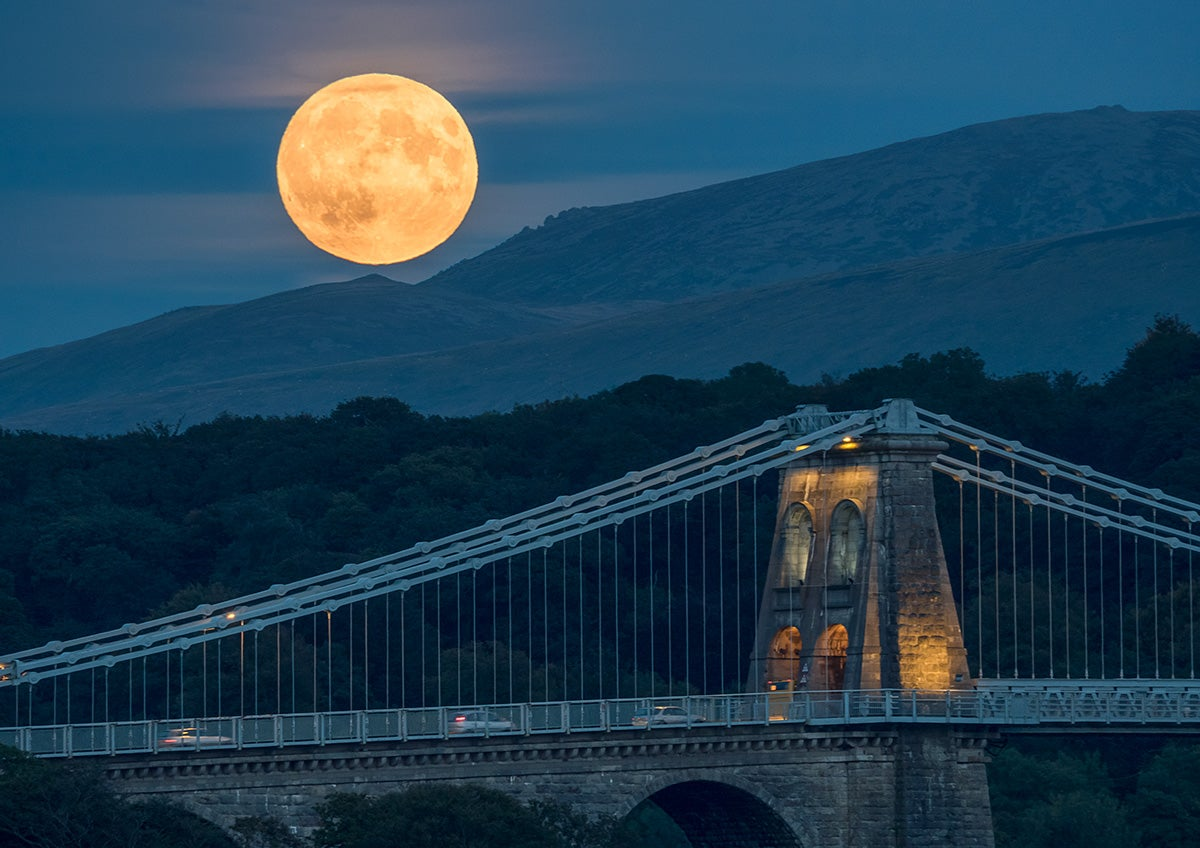 Here Are the Best Images of Last Night's Supermoon Eclipse