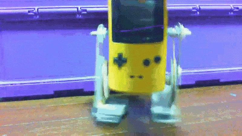 The Game Boy That Can Walk