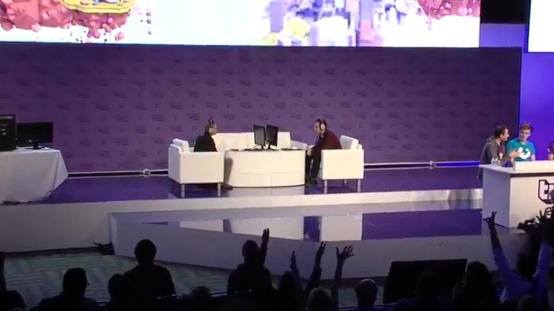 Twitch's Boss Plays Hearthstone With Blizzard's Boss At TwitchCon