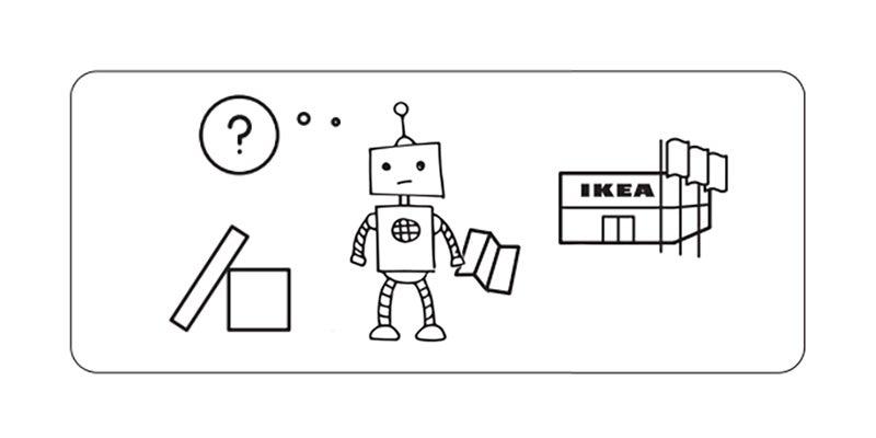 Even Robots Suck at Building IKEA Furniture