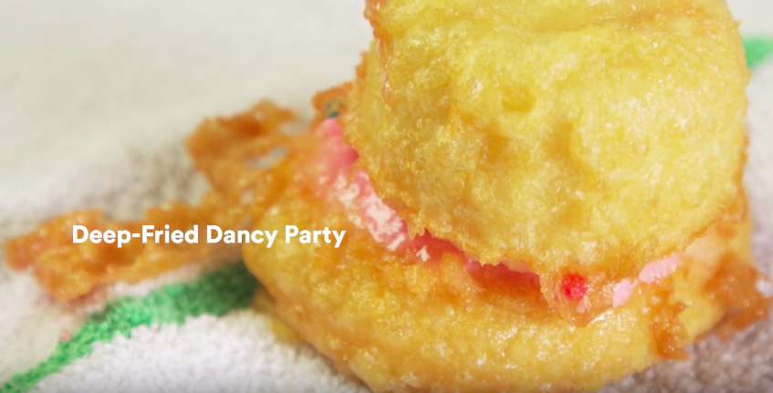 Deep frying every type of random food imaginable is all kinds of fun
