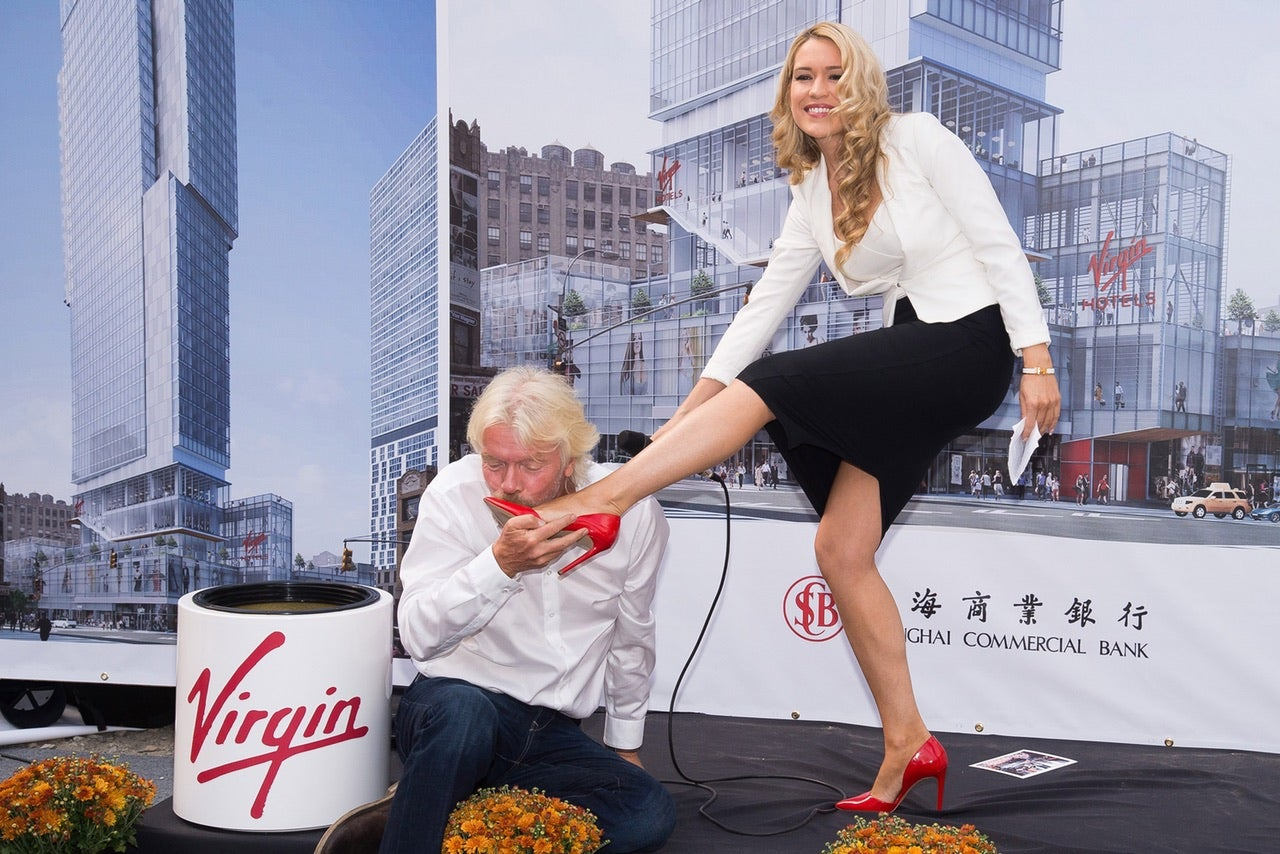 Virgin Buries Time Capsule In Most Awkward Ceremony Ever