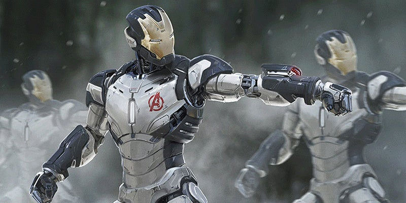 Art From The Avengers, Transformers, Spider-Man (And More)