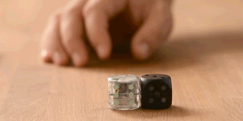Self-Rolling Dice Are One Less Physical Burden in Your Life