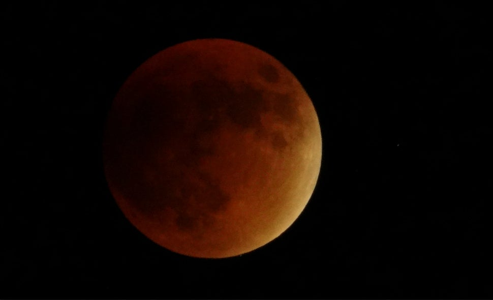 34 Amazing Photos Of The Super Blood Moon