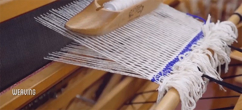 Hand making a suit at home takes $US4000, 10 months, cotton picking and a lot of animal shearing