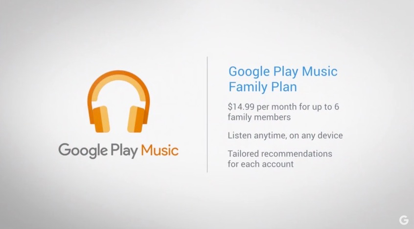 Google's New Family Plan for Music Is a Damn Good Deal