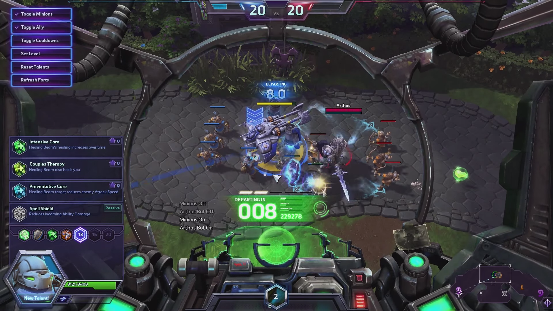 The Medic Has A Ridiculous Drop-Ship Power In Heroes Of The Storm