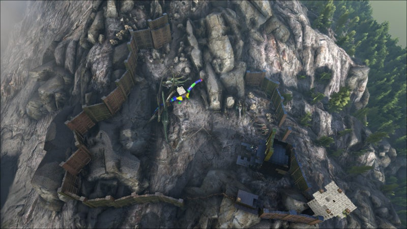 The New Ark: Survival Evolved Update Messed Up Some Playersu0027 Bases
