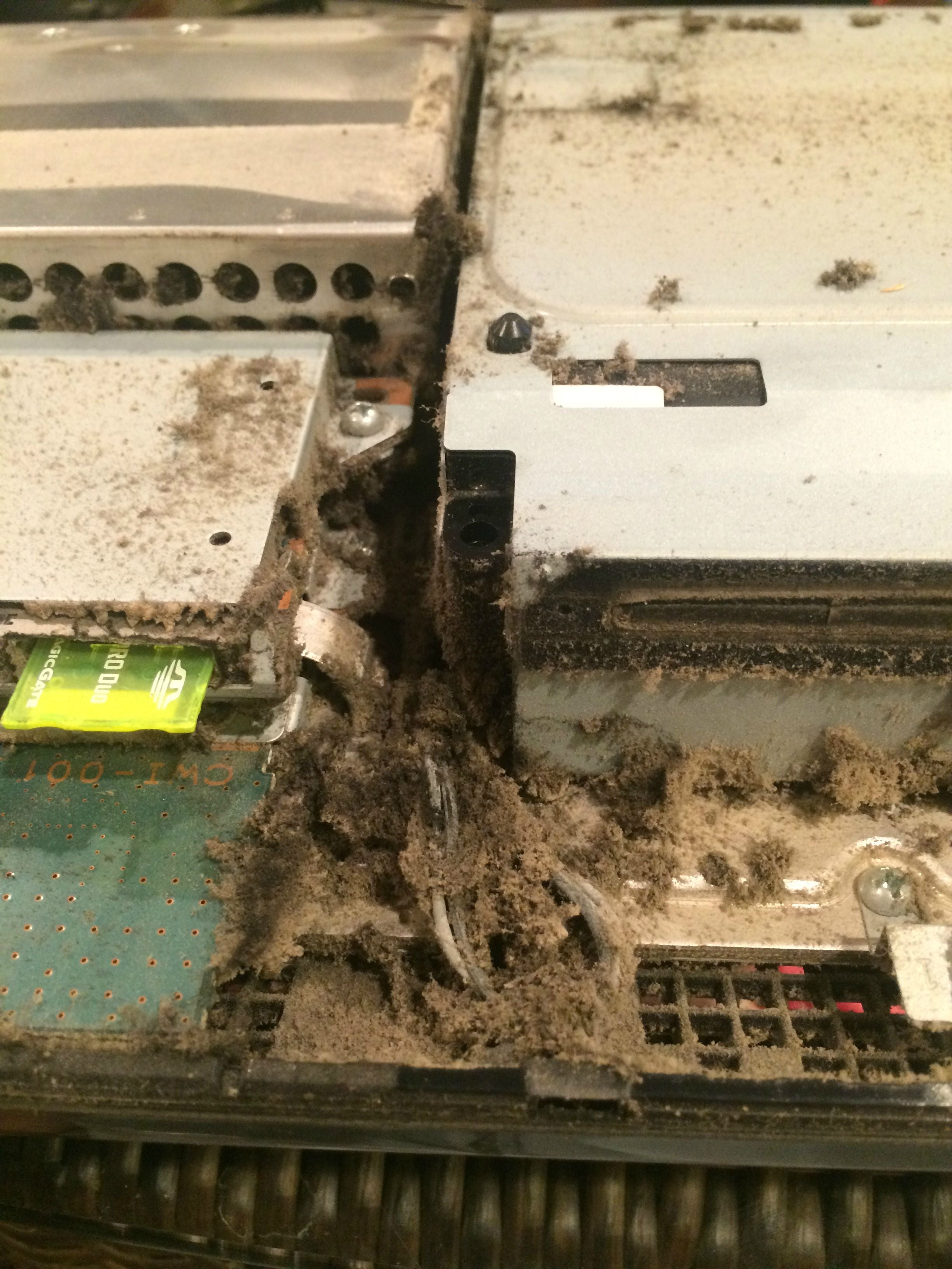Reminder: The Inside Of Your PS3 Is (Probably) Disgusting