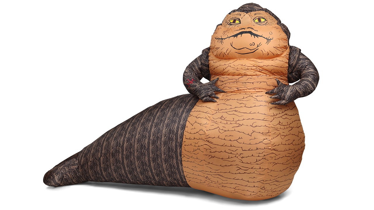 A 6-Feet Tall Inflatable Jabba Is the Perfect Lawn Decor For Any Holiday
