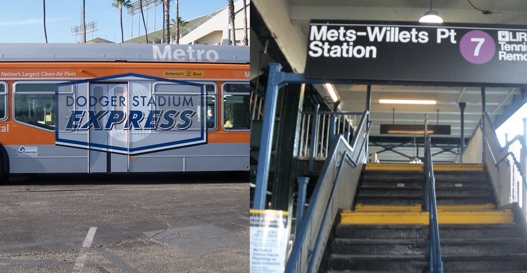 LA and NYC's Public Transit Systems Got In a Twitter Fight Over Baseball