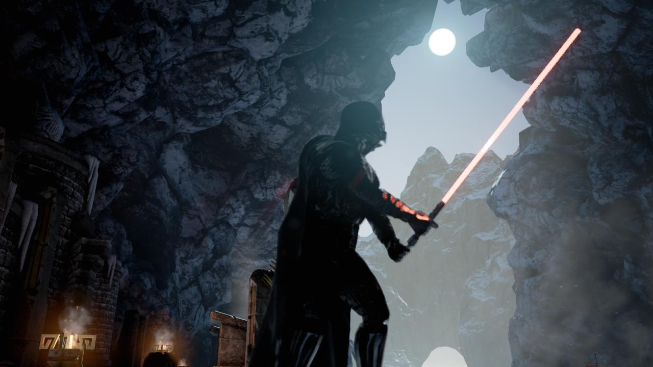 Darth Vader Is Pretty Good at Unreal Engine 4 Demos