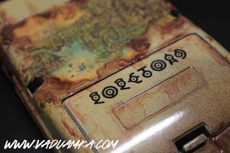 Pokémon-Themed Game Boy Is A Kanto Region Map