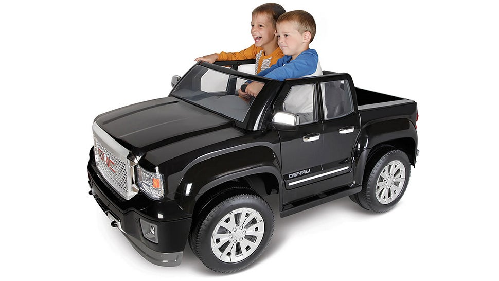There's Finally an All-Electric Version of the GMC Sierra Denali — For Kids