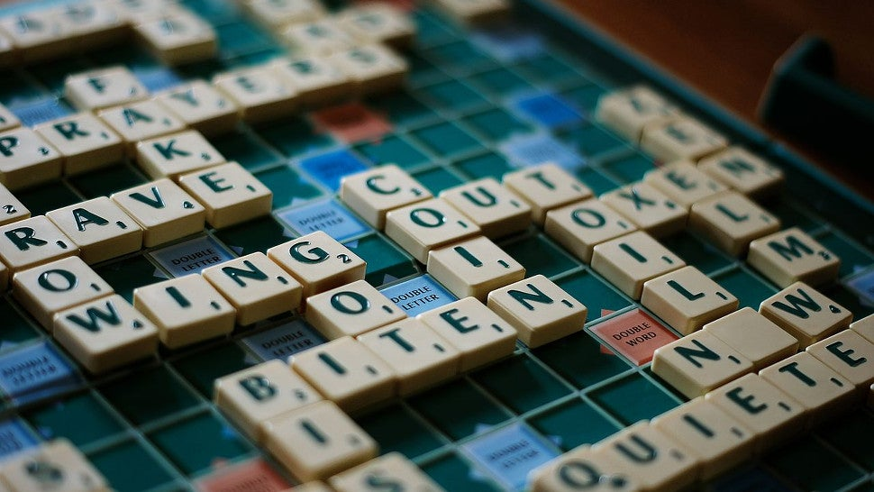 Playing Scrabble Changes the Way You Use Your Brain