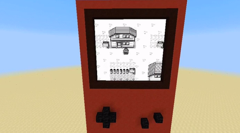 Someone's Making A Working Copy Of Pokémon Red In Minecraft