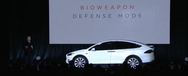 Bioweapon Experts Aren't Buying The Tesla Model X's Bioweapon Defence Mode