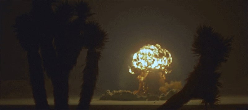 Watch previously unreleased footage of 1955 atomic bomb testing in glorious HD