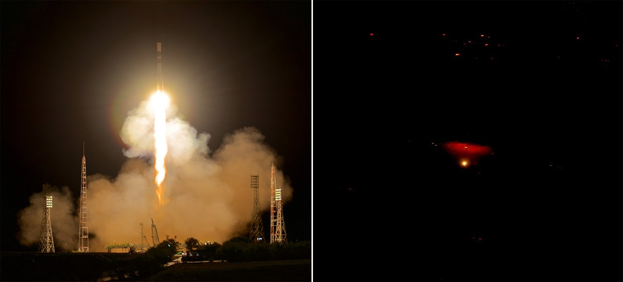 This Is the Latest Soyuz-Progress Launch — Viewed From the Space Station