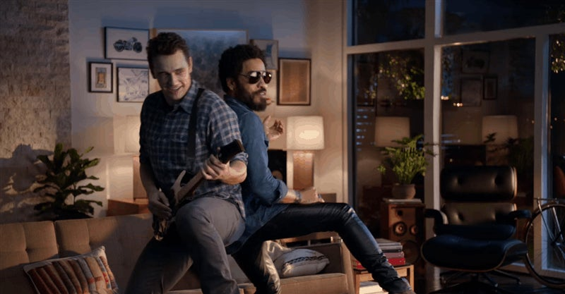 Lenny Kravitz' Pants Remain Intact Through An Entire Guitar Hero Live Spot