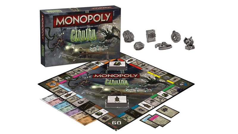 Cthulhu Joins Up With the Only More Evil Entity in the Universe: Monopoly
