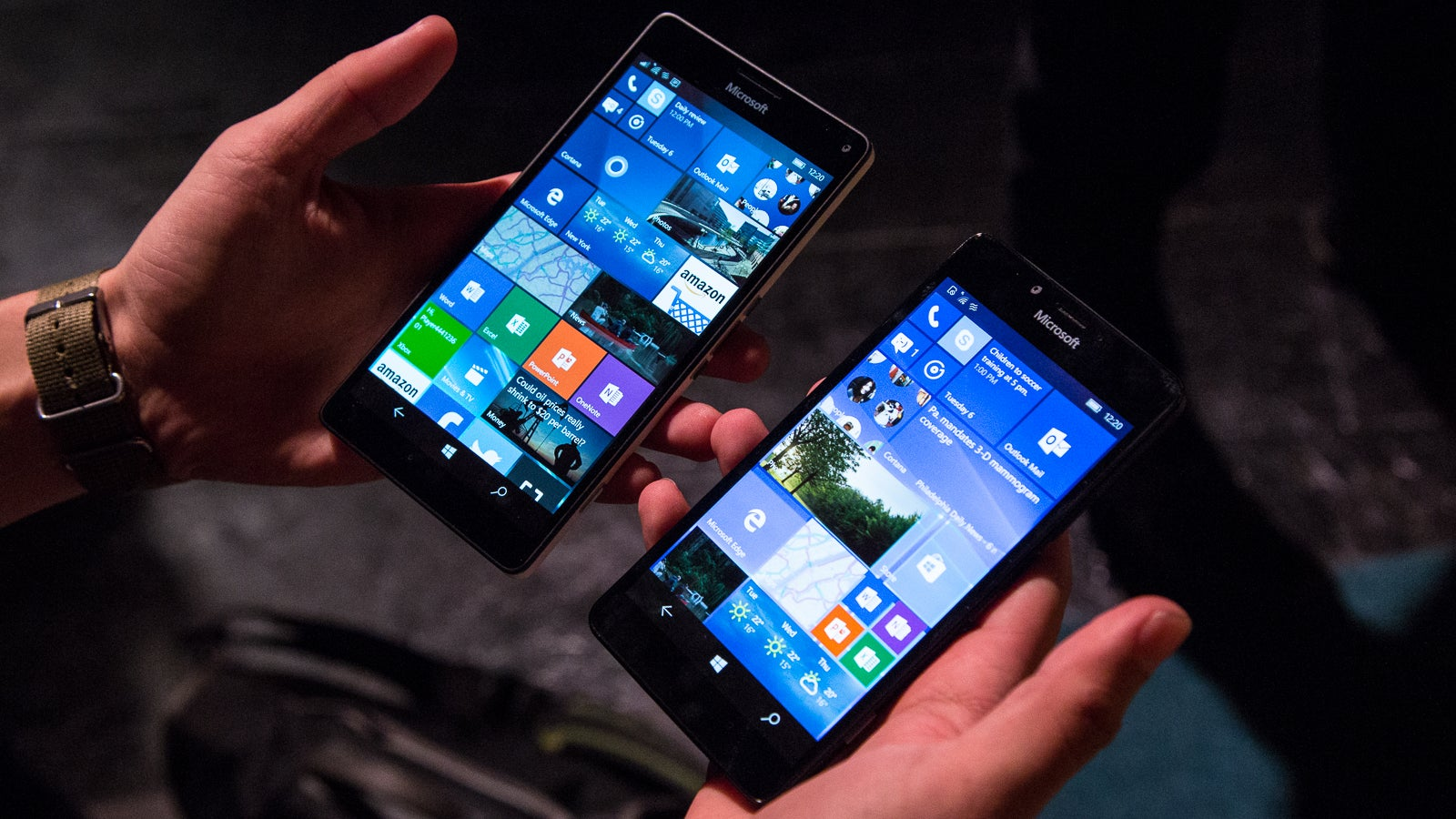 Lumia 950 and 950XL Hands-On: Hello Again, Windows Phone