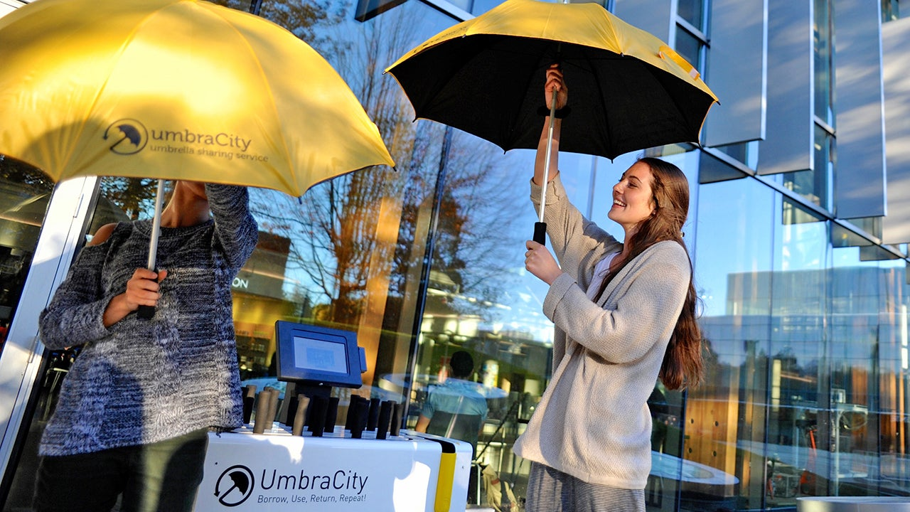 Every City Needs an Umbrella Sharing System