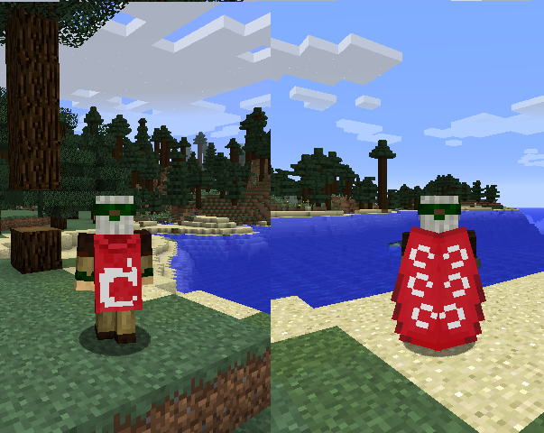 Minecraft's New Flying Capes Look Fantastic