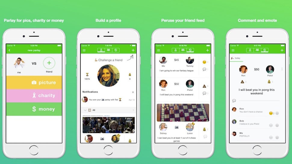 Parlay Lets You Challenge Your Friends to a Little Wager