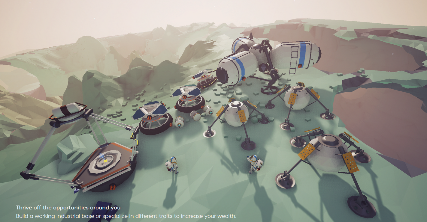 Upcoming Astronaut Space Exploration Game Looks Amazing