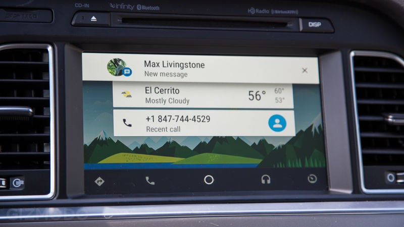 Google Swears Android Auto Isn't Spying On You (That Much)