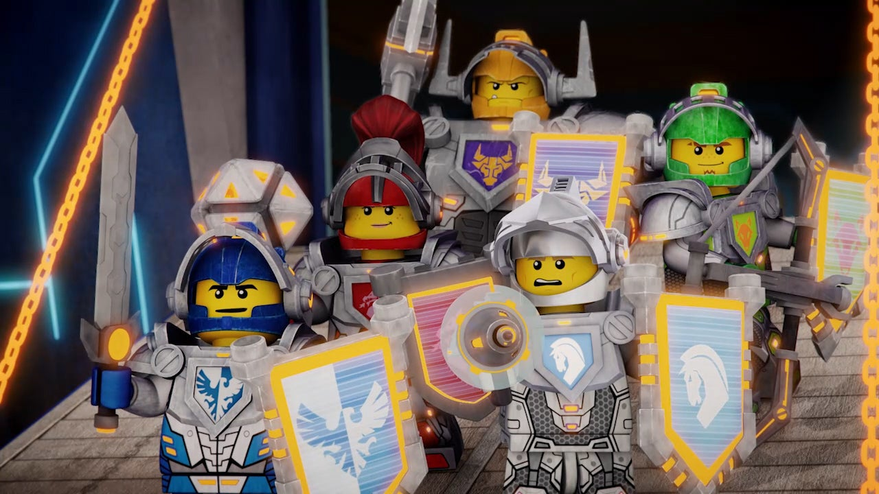 Future Knights Battle Dark Magic In LEGO's Latest Original Creation