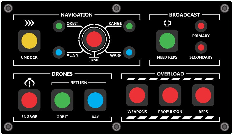 EVE Online Player Builds Cool Control Panel To Make Things Easier