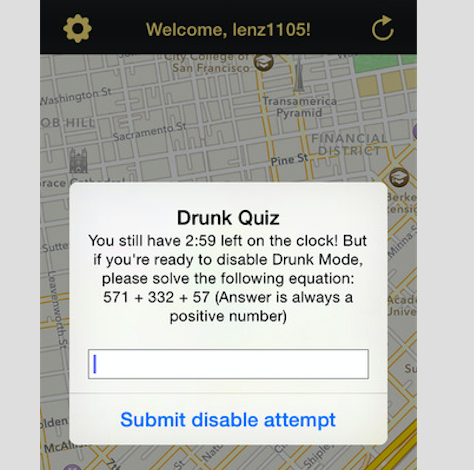Drunk Mode Helps You Stay Safe When You've Had One Too Many