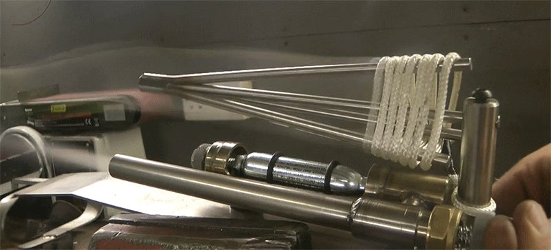 Making a real life version of the grappling hook rope launcher from Assassin's Creed