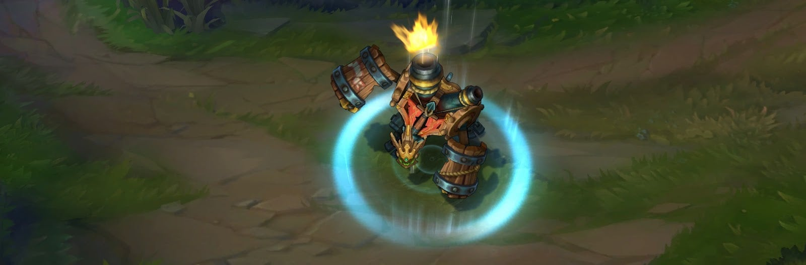 Ironside Malphite Skin Turns League Of Legends' Rock Monster Into A Pirate Ship