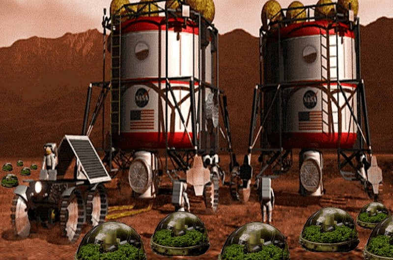 We Asked a NASA Botanist to Help Us Design a Better Farm on Mars than The Martian's
