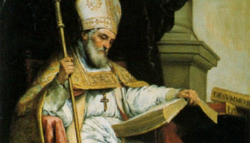 The Patron Saint Of The Internet Is Isidore Of Seville, Who Tried To Record Everything Ever Known