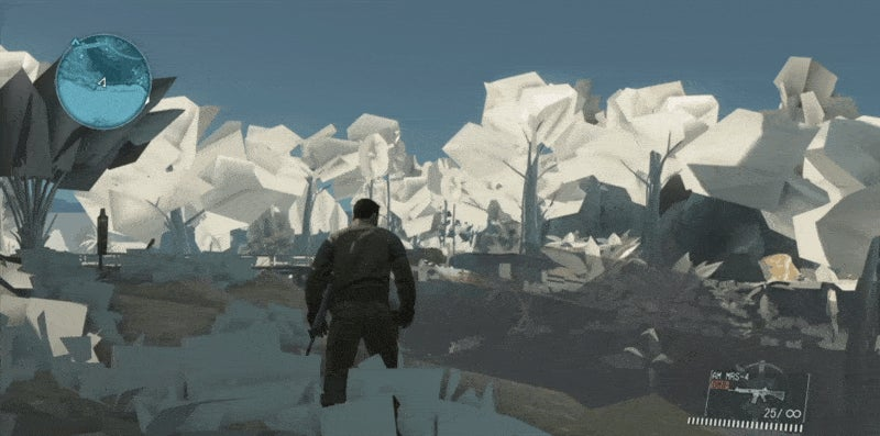 Metal Gear Solid V Looks Beautiful When It Breaks