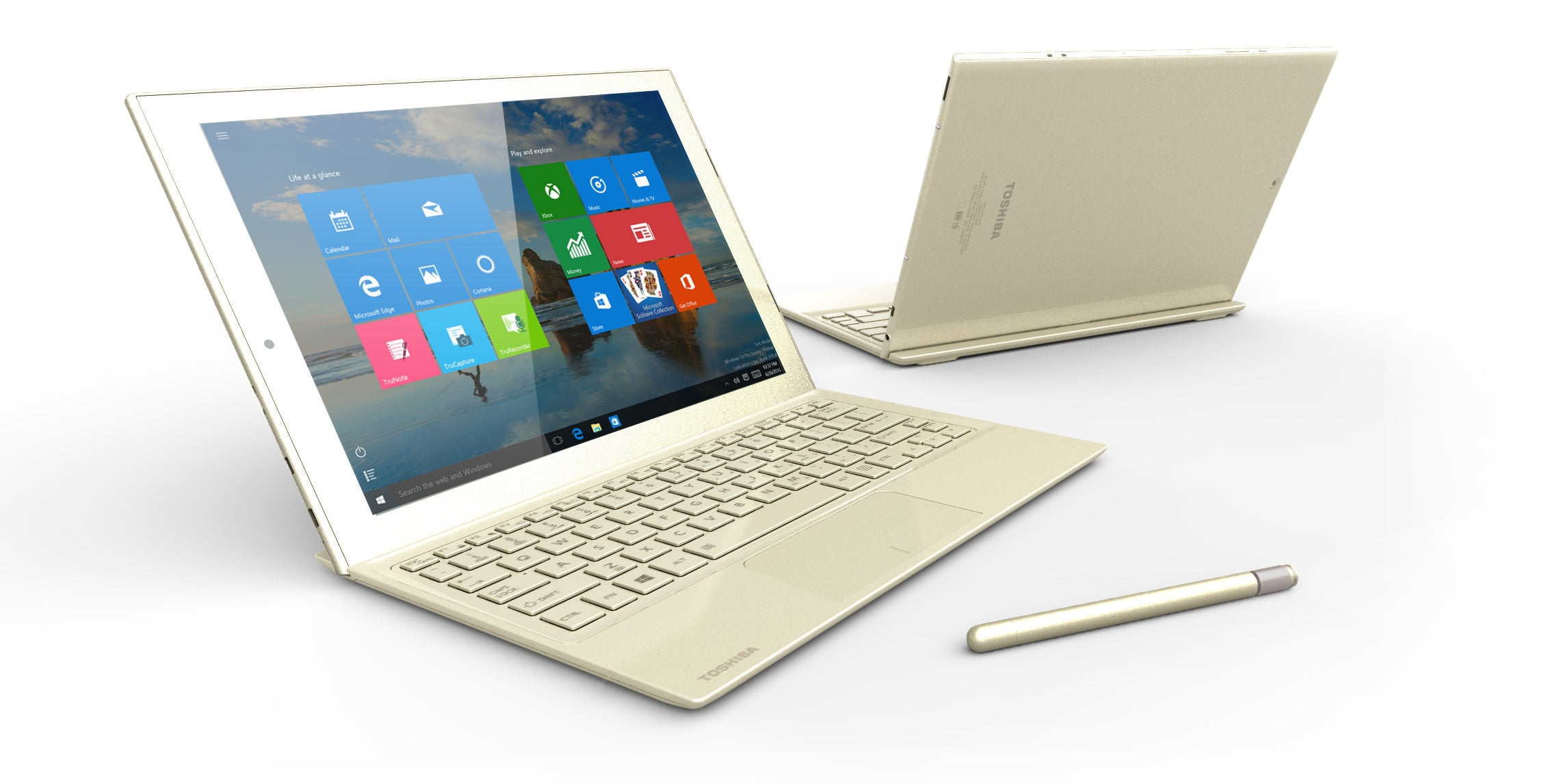 Toshiba's New DynaPad Is a Surface Clone For People Who Scribble