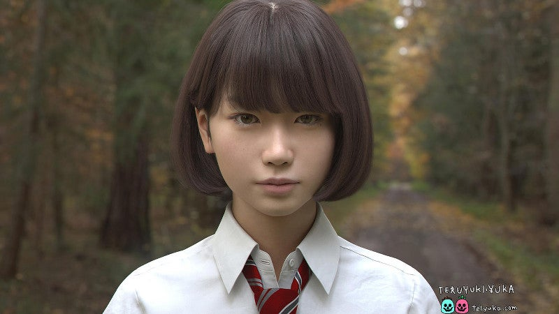 Making CG Japanese Schoolgirls Is Difficult