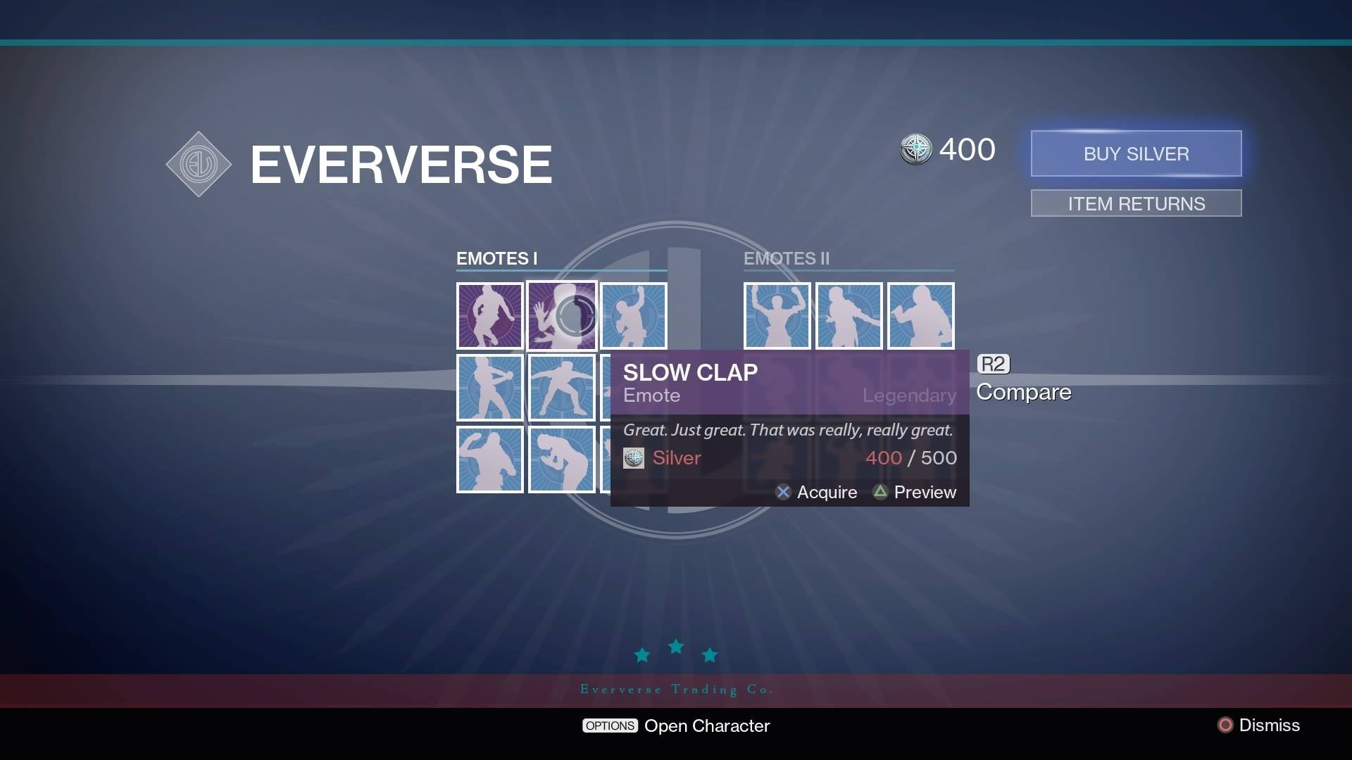 Destiny's Microtransaction Store Is Now Open