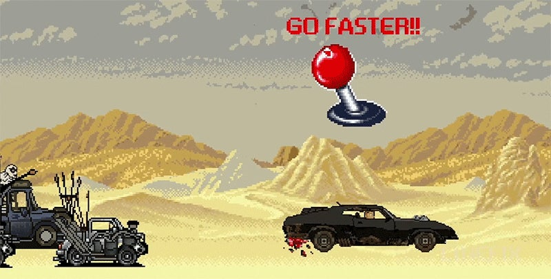 8-bit video game version of Mad Max: Fury Road is just as unbelievably fun
