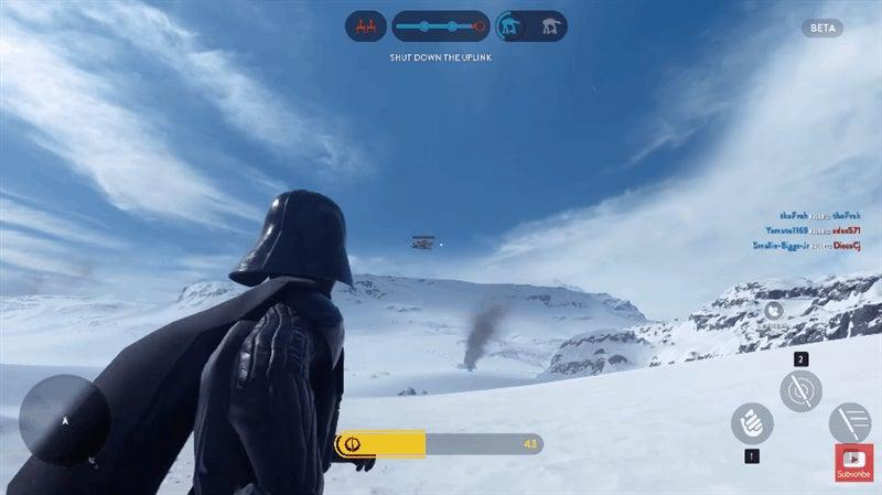 Darth Vader, Being a Total Badass In Star Wars Battlefront