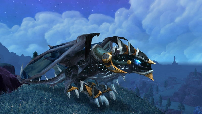 Badass World of Warcraft Mount is Totally Worth Running Old Dungeons